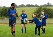 11 July 2017; Isa Nacewa with young players during the Bank of Ireland Leinster Rugby Summer Camp at Balbriggan RFC in Dublin. Photo by Eóin Noonan/Sportsfile
