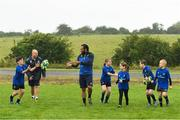 11 July 2017; Isa Nacewa and Richardt Strauss with young players during the Bank of Ireland Leinster Rugby Summer Camp at Balbriggan RFC in Dublin. Photo by Eóin Noonan/Sportsfile