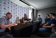 12 July 2017; Dublin manager Jim Gavin speaking during a press conference at the Gibson Hotel in Dublin. Photo by Seb Daly/Sportsfile