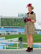 14 March 2012; Orla Geary, from Fermoy, Co. Cork, in attendance at the Cheltenham Festival. Cheltenham Racing Festival, Prestbury Park, Cheltenham, England. Picture credit: Matt Browne / SPORTSFILE