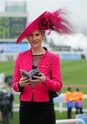 14 March 2012; Mary Carthy, from Kells, Co. Meath, in attendance at the Cheltenham Festival. Cheltenham Racing Festival, Prestbury Park, Cheltenham, England. Picture credit: Matt Browne / SPORTSFILE