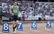 14 July 2017; Michael McKillop of Ireland competing in the 800m Men's Heats during the 2017 Para Athletics World Championships at the Olympic Stadium in London. Photo by Luc Percival/Sportsfile