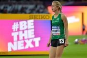 14 July 2017; Greta Streimikyte of Ireland competing in the 1500m Women's Final during the 2017 Para Athletics World Championships at the Olympic Stadium in London. Photo by Luc Percival/Sportsfile