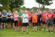 15 July 2017; parkrun Ireland in partnership with Vhi, added their 65th event on Saturday, July 15th, with the introduction of the Fairview parkrun. parkruns take place over a 5km course weekly, are free to enter and are open to all ages and abilities, providing a fun and safe environment to enjoy exercise. To register for a parkrun near you visit www.parkrun.ie. New registrants should select their chosen event as their home location. You will then receive a personal barcode which acts as your free entry to any parkrun event worldwide. Pictured are participants before the Fairview parkrun. Photo by Piaras Ó Mídheach/Sportsfile