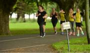 15 July 2017; parkrun Ireland in partnership with Vhi, added their 65th event on Saturday, July 15th, with the introduction of the Fairview parkrun. parkruns take place over a 5km course weekly, are free to enter and are open to all ages and abilities, providing a fun and safe environment to enjoy exercise. To register for a parkrun near you visit www.parkrun.ie. New registrants should select their chosen event as their home location. You will then receive a personal barcode which acts as your free entry to any parkrun event worldwide. Photo by Piaras Ó Mídheach/Sportsfile