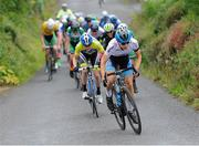 15 July 2017; Gaelen Kilburn of Hot Tubes in action during Stage 5 of the Scott Junior Tour 2017 at Gallows Hill, Co Clare. Photo by Stephen McMahon/Sportsfile