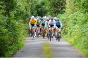 15 July 2017; A general view of the action during Stage 5 of the Scott Junior Tour 2017 at Gallows Hill, Co Clare. Photo by Stephen McMahon/Sportsfile