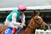 15 July 2017; Enable, with Frankie Dettori up, on their way to winning the Darley Irish Oaks during Day 1 of the Darley Irish Oaks Weekend at the Curragh in Kildare. Photo by Eóin Noonan/Sportsfile