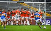 15 July 2017; Eleven Armagh players defend a last minute free kick from Tipperary's Michael Quinlivan during the GAA Football All-Ireland Senior Championship Round 3B match between Tipperary and Armagh at Semple Stadium in Thurles, Co Tipperary. Photo by Ray McManus/Sportsfile