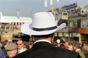 14 March 2012; A cowboy hat is seen during Ladies Day at the Cheltenham Festival. Cheltenham Racing Festival, Prestbury Park, Cheltenham, England. Picture credit: Brendan Moran / SPORTSFILE