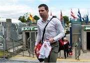 16 July 2017; Sean Cavanagh of Tyrone arrives before the Ulster GAA Football Senior Championship Final match between Tyrone and Down at St Tiernach's Park in Clones, Co. Monaghan. Photo by Oliver McVeigh/Sportsfile