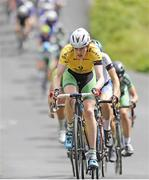 16July 2017; Race leader Ben Walsh of Ireland National Team in action during Stage 6 of the Scott Junior Tour 2017 in Ennis, Co Clare. Photo by Stephen McMahon/Sportsfile