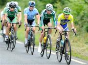 16July 2017; Liam Hanley of Lucan Road Cycling Club in action during Stage 6 of the Scott Junior Tour 2017 in Ennis, Co Clare. Photo by Stephen McMahon/Sportsfile