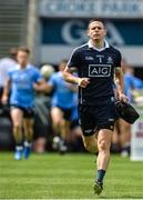 16 July 2017; Dublin captain Stephen Cluxton who today makes his 88th Senior Championship appearance, equalising the all-time record with Tomás Ó Sé and Marc Ó Sé of Kerry at the Leinster GAA Football Senior Championship Final match between Dublin and Kildare at Croke Park in Dublin. Photo by Piaras Ó Mídheach/Sportsfile