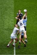16 July 2017; Kevin Feely of Kildare in action against Brian Fenton of Dublin during the Leinster GAA Football Senior Championship Final match between Dublin and Kildare at Croke Park in Dublin. Photo by Seb Daly/Sportsfile