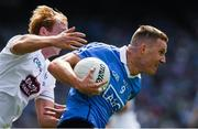 16 July 2017; Ciarán Kilkenny of Dublin in action against Keith Cribbin of Kildare during the Leinster GAA Football Senior Championship Final match between Dublin and Kildare at Croke Park in Dublin. Photo by Ray McManus/Sportsfile