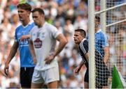 16 July 2017; Dublin captain Stephen Cluxton who today makes his 88th Senior Championship appearance, equalising the all-time record with Tomás Ó Sé and Marc Ó Sé of Kerry, during the Leinster GAA Football Senior Championship Final match between Dublin and Kildare at Croke Park in Dublin. Photo by Piaras Ó Mídheach/Sportsfile