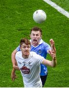 16 July 2017; Kevin Feely of Kildare in action against Jack McCaffrey of Dublin during the Leinster GAA Football Senior Championship Final match between Dublin and Kildare at Croke Park in Dublin. Photo by Seb Daly/Sportsfile