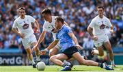 16 July 2017; Dean Rock of Dublin is tackled by Mick O'Grady of Kildare in the movement that ultimately led to Rock getting a black card during the Leinster GAA Football Senior Championship Final match between Dublin and Kildare at Croke Park in Dublin. Photo by Ray McManus/Sportsfile