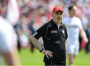 16 July 2017; Tyrone manager Mickey Harte, before the Ulster GAA Football Senior Championship Final match between Tyrone and Down at St Tiernach's Park in Clones, Co. Monaghan. Photo by Oliver McVeigh/Sportsfile
