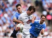 16 July 2017; Paddy Brophy of Kildare in action against Kevin McManamon of Dublin during the Leinster GAA Football Senior Championship Final match between Dublin and Kildare at Croke Park in Dublin. Photo by Seb Daly/Sportsfile