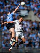 16 July 2017; Brian Fenton of Dublin in action against Tommy Moolick of Kildare during the Leinster GAA Football Senior Championship Final match between Dublin and Kildare at Croke Park in Dublin. Photo by Piaras Ó Mídheach/Sportsfile