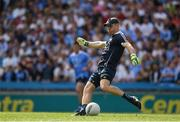 16 July 2017; Dublin captain Stephen Cluxton during the Leinster GAA Football Senior Championship Final match between Dublin and Kildare at Croke Park in Dublin. Photo by Ray McManus/Sportsfile