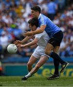 16 July 2017; Bernard Brogan of Dublin in action against Ollie Lyons of Kildare during the Leinster GAA Football Senior Championship Final match between Dublin and Kildare at Croke Park in Dublin. Photo by Ray McManus/Sportsfile
