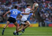 16 July 2017; David Slattery of Kildare in action against Niall Scully, left, and Con O'Callaghan of Dublin during the Leinster GAA Football Senior Championship Final match between Dublin and Kildare at Croke Park in Dublin. Photo by Ray McManus/Sportsfile