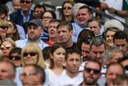 16 July 2017; Armagh manager Kieran McGeeney, centre, in the Hogan Stand before the Leinster GAA Football Senior Championship Final match between Dublin and Kildare at Croke Park in Dublin. Photo by Ray McManus/Sportsfile