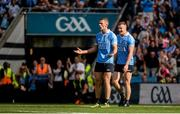 16 July 2017; Paul Mannion of Dublin reacts after his goal was disallowed late during the Leinster GAA Football Senior Championship Final match between Dublin and Kildare at Croke Park in Dublin. Photo by Piaras Ó Mídheach/Sportsfile