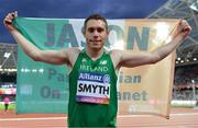 16 July 2017; Jason Smyth of Ireland Gold Medal winner in the Men's 100m T13 Final during the 2017 Para Athletics World Championships at the Olympic Stadium in London. Photo by Luc Percival/Sportsfile