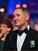 3 November 2017; Dublin manager Jim Gavin during the PwC All Stars 2017 at the Convention Centre in Dublin. Photo by Brendan Moran/Sportsfile