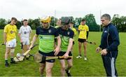 17 July 2017; Michael McGreevy and Mark McKavanagh both from Rossa GAA club and Antrim  Squad members at a personal training session with former Tipperary star and Director of Munster, Bank of Ireland Liam Sheedy. Antrim were one of the six counties to emerge as winners in the Bank of Ireland Celtic Challenge finals. Antrim defeated North Cork in last month's finals, played at Netwatch Cullen Park, Carlow. The Bank of Ireland Celtic Challenge is a 32 county hurling development competition for 16 and 17 year old participants. Over 14000 players from around the country took part in the 2017 competition. Photo by Oliver McVeigh/Sportsfile