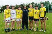 17 July 2017; Antrim Celtic Challenge Squad members at a personal training session with former Tipperary star and Director of Munster, Bank of Ireland Liam Sheedy. Antrim were one of the six counties to emerge as winners in the Bank of Ireland Celtic Challenge finals. Antrim defeated North Cork in last month's finals, played at Netwatch Cullen Park, Carlow. The Bank of Ireland Celtic Challenge is a 32 county hurling development competition for 16 and 17 year old participants. Over 14000 players from around the country took part in the 2017 competition. Photo by Oliver McVeigh/Sportsfile