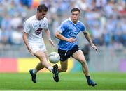 16 July 2017; Niall Kelly of Kildare in action against Con O'Callaghan of Dublin during the Leinster GAA Football Senior Championship Final match between Dublin and Kildare at Croke Park in Dublin. Photo by Piaras Ó Mídheach/Sportsfile