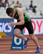 16 July 2017; Jason Smyth of Ireland competing in the Men's 200m T13 heats during the 2017 Para Athletics World Championships at the Olympic Stadium in London. Photo by Luc Percival/Sportsfile