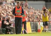 8 July 2017; Armagh manager Kieran McGeeney during the GAA Football All-Ireland Senior Championship Round 2B match between Westmeath and Armagh at TEG Cusack Park in Mullingar, Co Westmeath. Photo by Piaras Ó Mídheach/Sportsfile