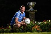 18 July 2017; In attendance during the 2017 GAA Football All Ireland Senior Championship Series National Launch at The Argory is Ciarán Kilkenny of Dublin with the Sam Maguire Cup. Photo by Cody Glenn/Sportsfile