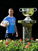 18 July 2017; In attendance during the 2017 GAA Football All Ireland Senior Championship Series National Launch at The Argory is  Ciarán Kilkenny of Dublin with the Sam Maguire Cup. Photo by Ray McManus/Sportsfile