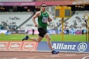 18 July 2017; Jason Smyth of Ireland on his way to winning the Men's 200m T13 during the 2017 Para Athletics World Championships at the Olympic Stadium in London. Photo by Luc Percival/Sportsfile