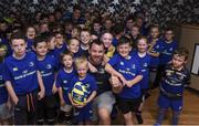 19 July 2017; Leinster's Cian Healy and Ian Nagle in attendance at the Bank of Ireland Leinster Rugby Summer Camp in Dundalk, Co Louth. Photo by Matt Browne/Sportsfile
