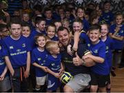 19 July 2017; Leinster's Cian Healy in attendance at the Bank of Ireland Leinster Rugby Summer Camp in Dundalk, Co Louth. Photo by Matt Browne/Sportsfile