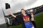 20 March 2012; In attendance at the launch of the Ladies Gaelic Football 3rd Level Colleges Championship Weekend, which takes place on the 24th and 25th of March in Queens University Belfast, is Orla Heavey, UL. Croke Park, Dublin. Picture credit: Brian Lawless / SPORTSFILE