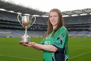 20 March 2012; In attendance at the launch of the Ladies Gaelic Football 3rd Level Colleges Championship Weekend, which takes place on the 24th and 25th of March in Queens University Belfast, is Nora Ward, AIT. Croke Park, Dublin. Picture credit: Brian Lawless / SPORTSFILE