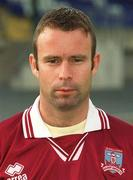 20 July 2002; Mike Quirke during a Galway United squad portraits session at Century Homes Park in Monaghan. Photo by Matt Browne/Sportsfile