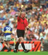 28 July 2002; Pat Ahern, referee. Hurling. Picture credit; Aoife Rice / SPORTSFILE