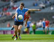 16 July 2017; James Doran of Dublin  during the Electric Ireland Leinster GAA Football Minor Championship Final match between Dublin and Louth at Croke Park in Dublin. Photo by Ray McManus/Sportsfile