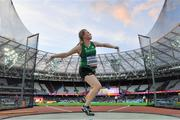 20 July 2017; Noelle Lenihan of Ireland competing in the Women's Discus, F38 during the 2017 Para Athletics World Championships at the Olympic Stadium in London. Photo by Luc Percival/Sportsfile