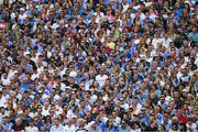16 July 2017; Supporters in the Hogan Stand during the Leinster GAA Football Senior Championship Final match between Dublin and Kildare at Croke Park in Dublin. Photo by Ray McManus/Sportsfile